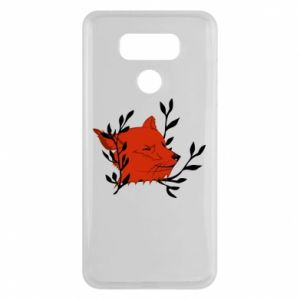 LG G6 Case Fox with closed eyes