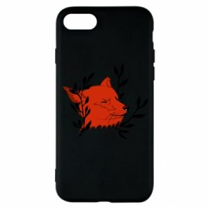 iPhone SE 2020 Case Fox with closed eyes