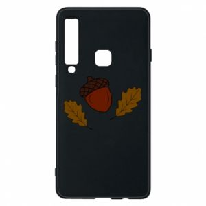 Phone case for Samsung A9 2018 Leaves and acorns