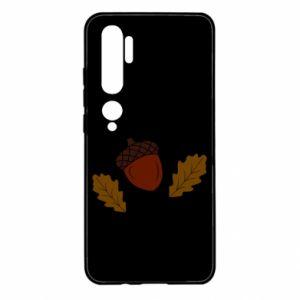 Xiaomi Mi Note 10 Case Leaves and acorns