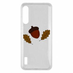 Xiaomi Mi A3 Case Leaves and acorns