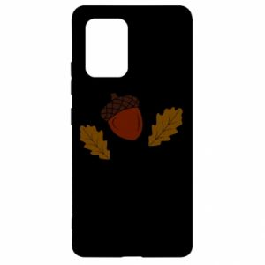 Samsung S10 Lite Case Leaves and acorns