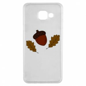Samsung A3 2016 Case Leaves and acorns