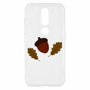 Nokia 4.2 Case Leaves and acorns