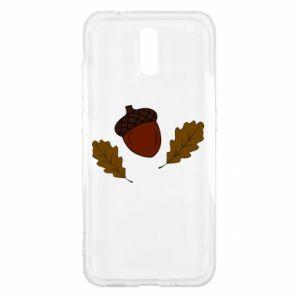 Nokia 2.3 Case Leaves and acorns