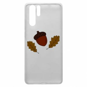 Huawei P30 Pro Case Leaves and acorns