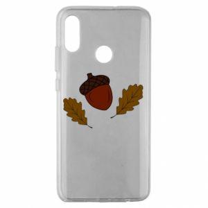 Huawei Honor 10 Lite Case Leaves and acorns