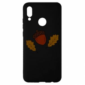 Huawei P Smart 2019 Case Leaves and acorns