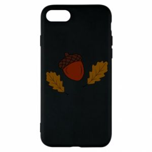 iPhone SE 2020 Case Leaves and acorns