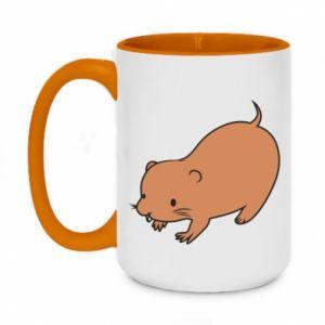 Kubek dwukolorowy 450ml Little beaver