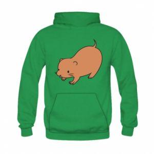 Bluza z kapturem dziecięca Little beaver