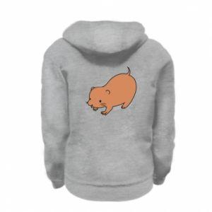 Bluza na zamek dziecięca Little beaver