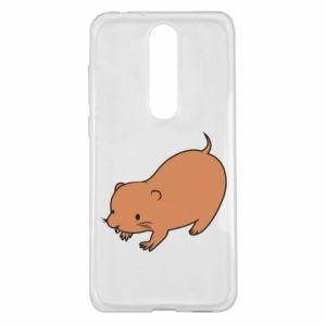 Etui na Nokia 5.1 Plus Little beaver