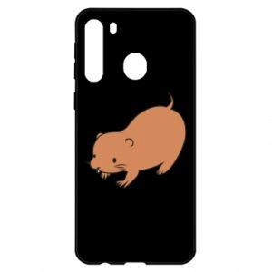 Etui na Samsung A21 Little beaver