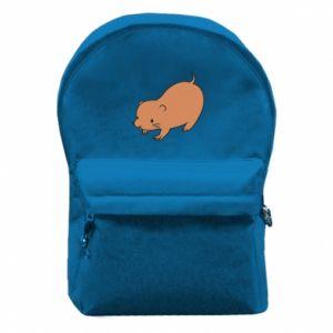 Plecak z przednią kieszenią Little beaver
