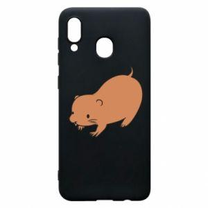 Etui na Samsung A20 Little beaver