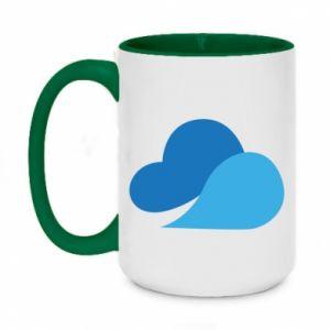 Kubek dwukolorowy 450ml Little cloud
