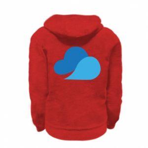 Bluza na zamek dziecięca Little cloud