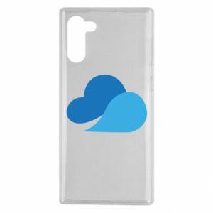 Etui na Samsung Note 10 Little cloud