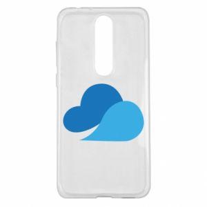 Etui na Nokia 5.1 Plus Little cloud