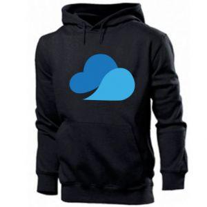 Bluza z kapturem męska Little cloud
