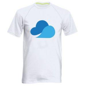 Koszulka sportowa męska Little cloud