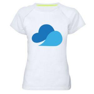 Koszulka sportowa damska Little cloud
