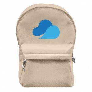 Plecak z przednią kieszenią Little cloud