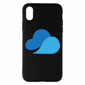 Etui na iPhone X/Xs Little cloud