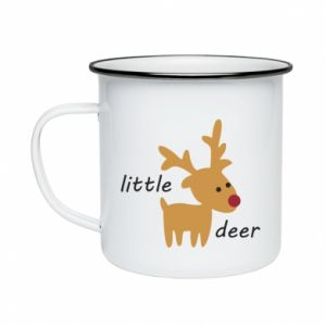 Kubek emaliowane Little deer