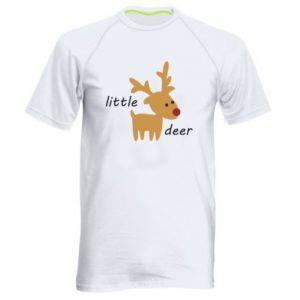 Men's sports t-shirt Little deer