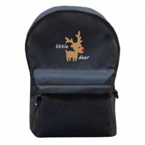 Backpack with front pocket Little deer