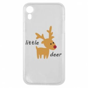 Etui na iPhone XR Little deer