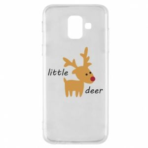 Etui na Samsung A6 2018 Little deer