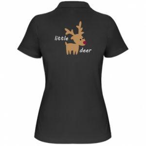 Women's Polo shirt Little deer