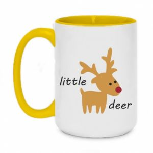 Kubek dwukolorowy 450ml Little deer