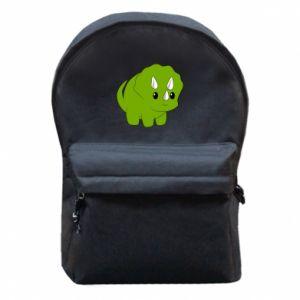 Plecak z przednią kieszenią Little dinosaur with horns