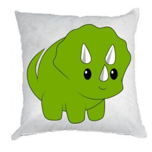 Poduszka Little dinosaur with horns
