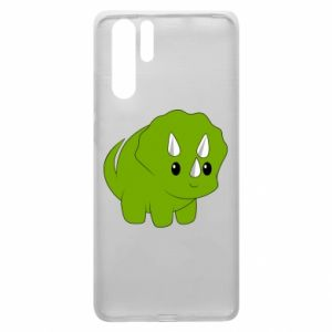 Etui na Huawei P30 Pro Little dinosaur with horns