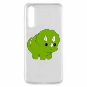 Etui na Huawei P20 Pro Little dinosaur with horns