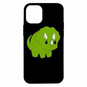 Etui na iPhone 12 Mini Little dinosaur with horns