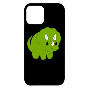 Etui na iPhone 12 Pro Max Little dinosaur with horns