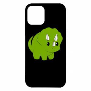 Etui na iPhone 12/12 Pro Little dinosaur with horns
