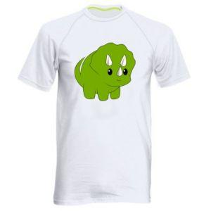 Koszulka sportowa męska Little dinosaur with horns
