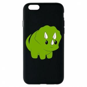 Etui na iPhone 6/6S Little dinosaur with horns