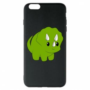 Etui na iPhone 6 Plus/6S Plus Little dinosaur with horns