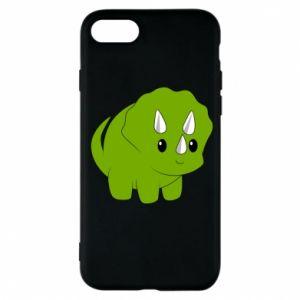 Etui na iPhone 7 Little dinosaur with horns