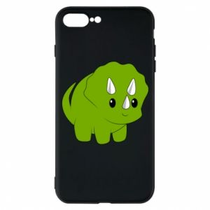 Etui do iPhone 7 Plus Little dinosaur with horns