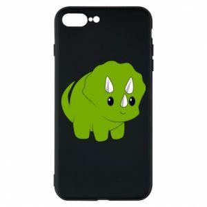 Etui na iPhone 8 Plus Little dinosaur with horns