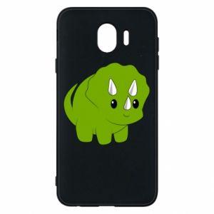Etui na Samsung J4 Little dinosaur with horns